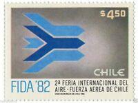 Chile 1981 #1021 2a Feria Internacional del Aire FIDA´82 MNH
