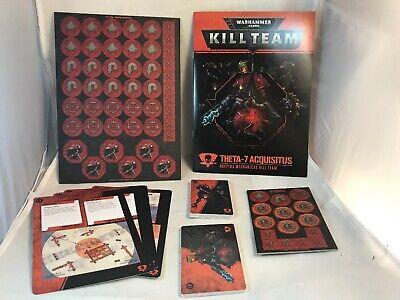 40k killteam Cards Tokens Mechanicus Rulebook