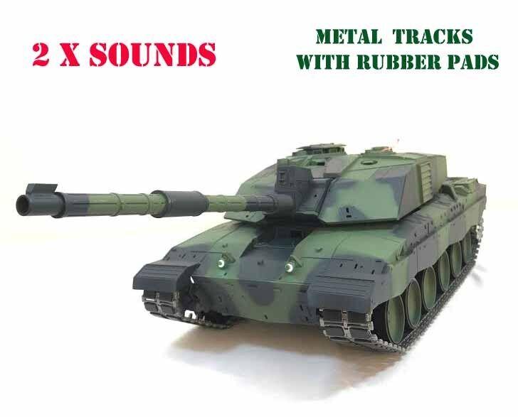 Heng Long British Challenger 2 PRO Radio Telecomando RC TANK 1/16th 2.4 G