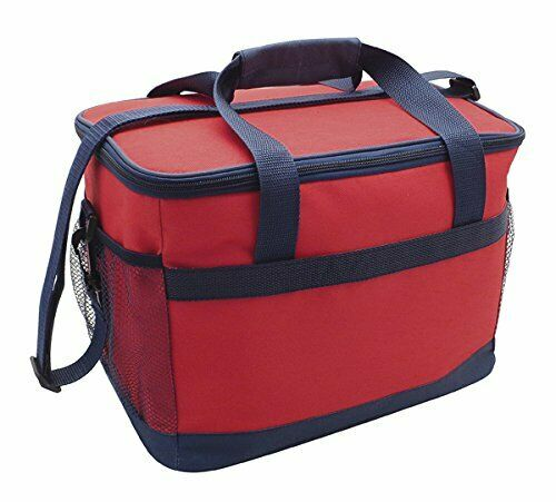16Ltr Deluxe Cooler Bag Insulated Large Cooler Summer Travel Bags Picnic Lunch