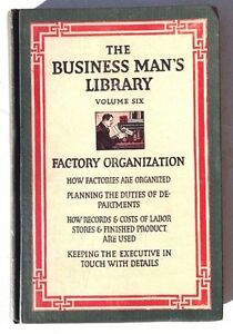 Image is loading Vintage-1909-THE-BUSINESS-MAN-039-S-LIBRARY-