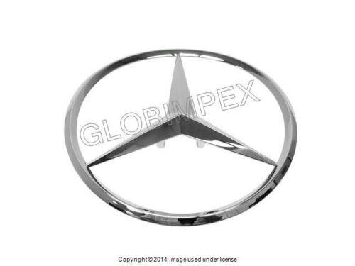 2000-2006 Mercedes w220 Trunk Star Emblem Genuine GENUINE NEW Warranty