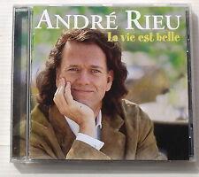 ANDRE RIEU . LA VIE EST BELLE . CD