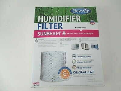 BestAir Replacement Humidifier Filter H65 For Sunbeam, Holmes, Bionaire   eBay