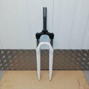 New SR Suntour NVX 700C Suspension Fork w Lockout White Disc Brake 75mm Travel