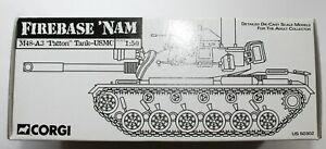 CORGI-M48-A3-USMC-PATTON-TANK-FIREBASE-NAM-US-50302-1-50-SCALE-DIECAST-LIONEL