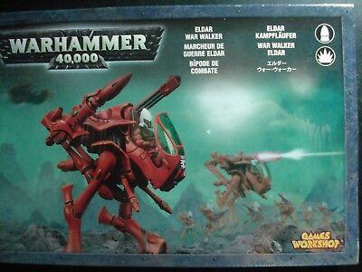 Brand New Games Workshop Warhammer 40k Elder War Walker