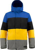 NEW $200 BURTON MENS SNOWBOARD/SKI ENCORE JACKET S M L XL