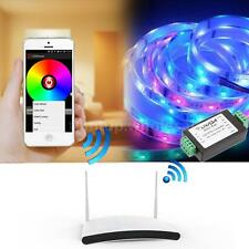 5-24V WiFi APP Controlled Wireless Receiver For RGBW LED Strip Light Home T8T6