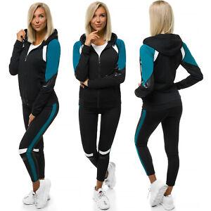 Trainingsanzug Sportanzug Jogginganzug Hose Sweatshirt Damen OZONEE JS/YW06007