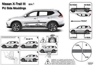 Moldura-Borde-Puerta-Door-Molding-Protector-Trim-for-Nissan-X-Trail-T32-2014