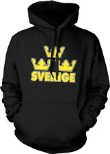 TRE KRONOR Sweden crowns//hockey Swedish gold hoodie//hooded sweatshirt S-5XL
