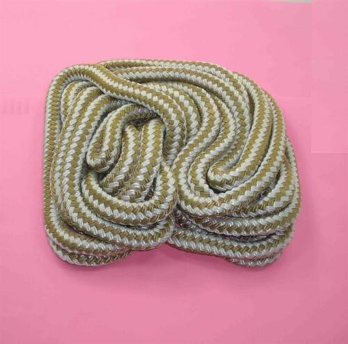 Marine Grade Double Braid Nylon Rope 3//8 x 300ft Gold for Dock Anchor Line 22986