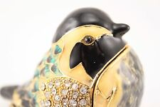 Small Bird Jewelry Trinket Box Decorative Collectible Fly Animal Cute Gift 02037