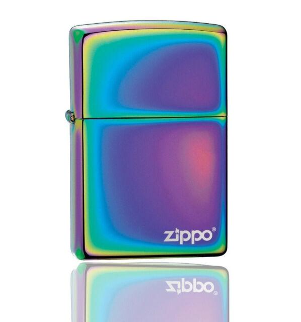 ZIPPO Spectrum Lighter With Logo 151ZL Genuine UK NEW