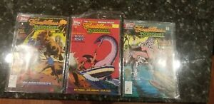 Topps Comics Cadillac And Dinosaurs Lot 1 2 And 2 Of 3. Good Condition