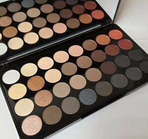 Image is loading MAKEUP-REVOLUTION-Ultra-32-Shade-Eyeshadow-Palette-FLAWLESS -