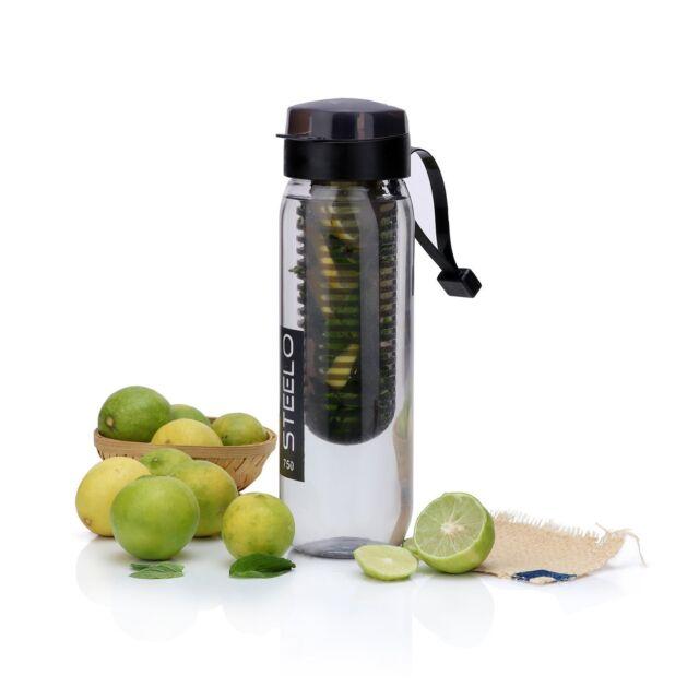 Steelo Detoxic Sante Fe Fruit Infuser Healthy Water Bottle | 750ml x 1
