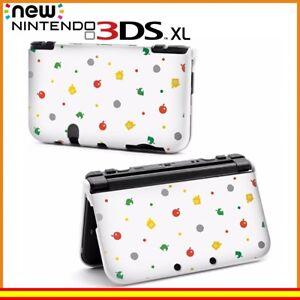 Funda-Protector-Nintendo-New-3DS-XL-Carcasa-Dibujos-Animal-Crossing-Iconos