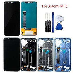 Para-Xiaomi-Mi-8-Pantalla-LCD-Tactil-Digitalizador-Asamblea-Kits-Reemplazo-Parts