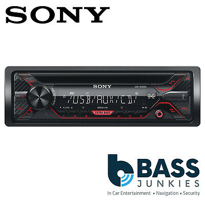 Sony 55x4 Watts Single Din Cd Aux Usb, Sony Cdx G1200u Wiring Diagram