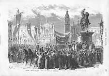 Amadeo I Spain Amedeo I di Spagna Duca d'Aosta TORINO ITALIA TURIN ITALIE 1873