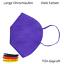 Indexbild 22 - ✅5 Stk FFP2 Maske Bunt Farbig 5-Lagig Atemschutz DEUTSCHER HÄNDLER ✅ TÜV ✅ CE ✅