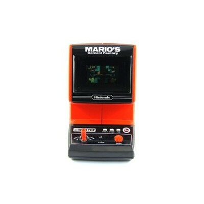 Mario's Cement Factory Tabletop Table Top Game Watch Nintendo