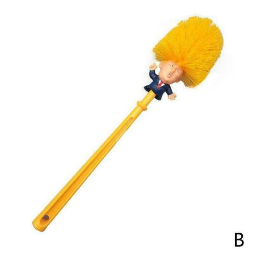 Bathroom Donald Trump Wash Toilet Brush Cleaning Original E7E1 Make Again G F6O3