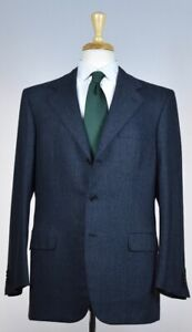 Brioni Mens 'Palatino 21' 3-BTN Fleece Wool Suit Size 40 R NEW $7500 Classic Fit