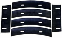 Stone 22112 Mortar Mixer Rubber Blades For 4 Cubic Feet Mixer, New, Free Shippin on sale