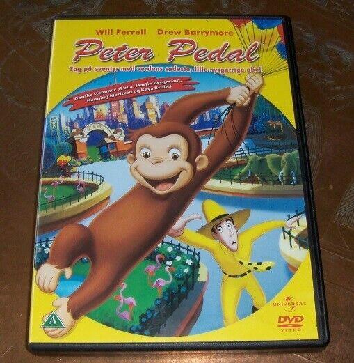 PETER PEDAL - MED DANSK TALE, DVD, animation