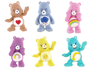Bullyland Comansi Official Care Bears Toy Figure Cake Topper Toppers
