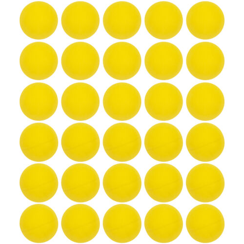 Mini Ping Pong Table Tennis Ball 100 Pack All Yellow 31mm 1.25 Inch Arts Crafts