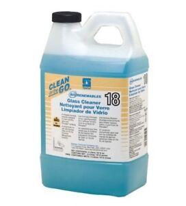 Spartan 4835 Clean On The Go BioRenewables 18 Glass Cleaner, 2 Liter.USDA Biobas