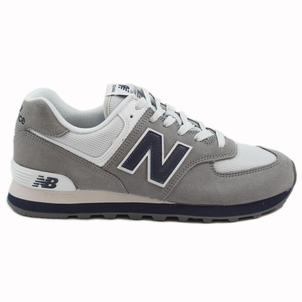 New Balance Herren Sneaker ML574ESD Gunmetal/Grau