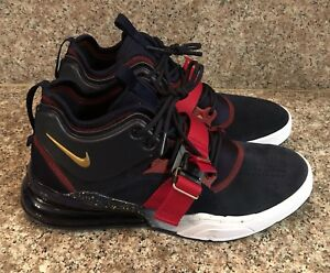Details about Nike Air Force 270 Olympic Dream Team USA Obsidian Gold Max AH6772 400 Mens 10