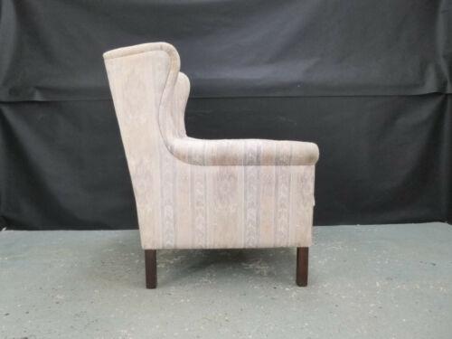 EB782 Pastel Fabric Arm Chair Vintage Retro Danish Interiors Lounge Seating