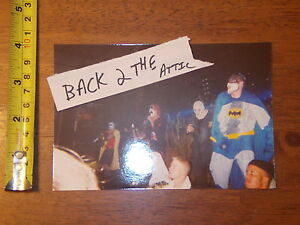 RARE OLD PHOTO INSANE CLOWN POSSE ICP TWIZTID BATMAN ROBIN HALLOWICKED #13