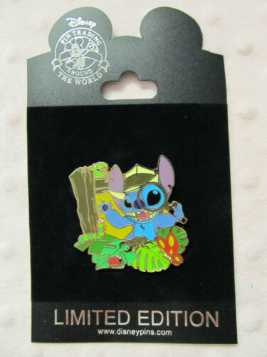Disney Pin - Disney Store - Explorer Series - Stitch - LE250 New