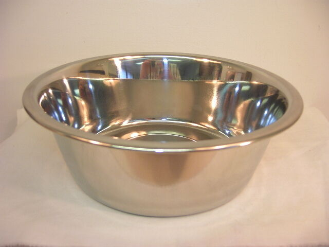 Stainless Steel Food Water Bowl Dish for Dog or Cat NEW