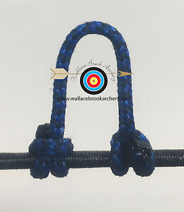 1,2,5,10 Blue D Loop BCY #24 Rope Archery Release Bowstring Bow String