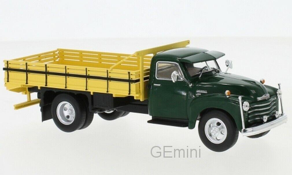 Chevrolet 6400 vert foncé 1949 1 43 blancbox
