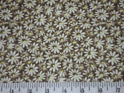 Crazy Daisy Flower  Fabric UPICK 18x22 fat quarter projects FQ quilting square