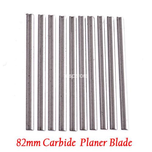 10PC 82mm Black /& Decker X24192 Planer Blade KW715 KW710 DN710 BD710 BD713 DN720