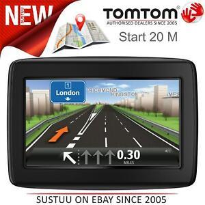 "TomTom Start 20 M 4.3"" Car GPS Sat Nav│Free Lifetime UK & Ireland Map Updates"