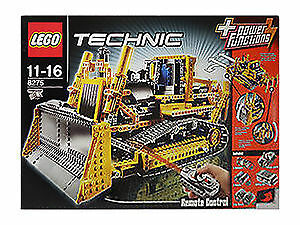 lego technic rc bulldozer 8275 ebay. Black Bedroom Furniture Sets. Home Design Ideas