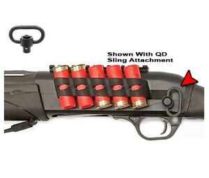 Details about GGG-2211 GGG2211 - Remington TAC-13 Side Saddle Shell Holder  5 Shot + QD Swivel!