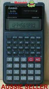 CASIO SCIENTIFIC CALCULATOR FX-115 FX115 FX115S 12 MONTH WARRANTY AUSSIE SELLER