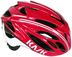 Casque KASK RAPIDO red white - 52 58cm